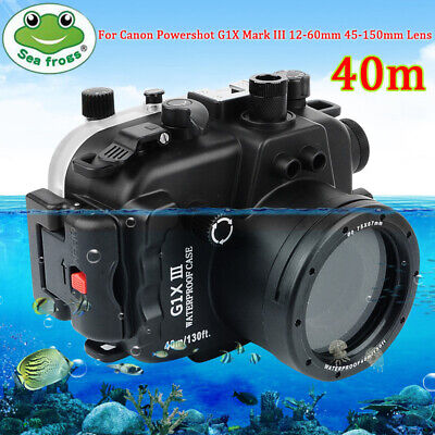 SeaFrogs 40m Underwater Camera Housing Case For Canon Powershot G1X Mark III