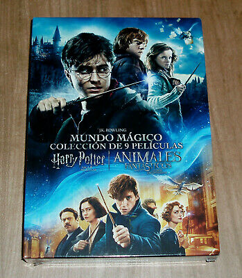 Collection Harry Potter+Animals Fantastic 9 Dvd Sealed Action (Unopened)