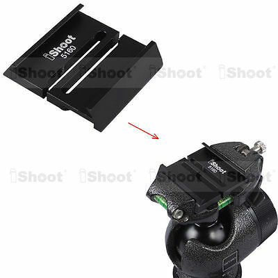 Adapter for Arca QR Quick Release Plate to GITZO Tripod Ball Head for GS5160CDT