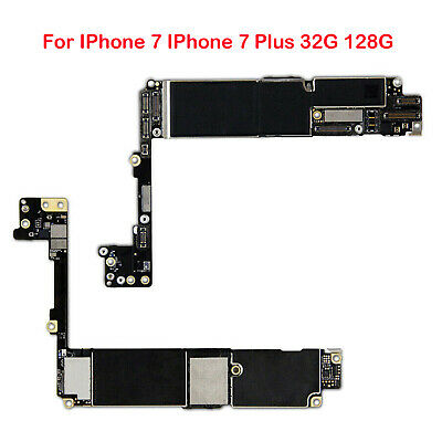 Main Board Motherboard Unlocked with White Touch ID for IPhone 7 7 Plus 32G 128G