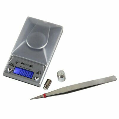 10/20 / 50G 0,001g LCD Digital Schmuckwaage Lab Gold Herb Balance Gewicht Gramm