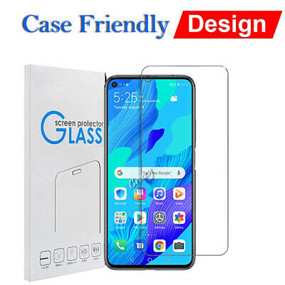 For Huawei nova 5T Tempered Glass Scratch Resist LCD Screen Protector Film Guard