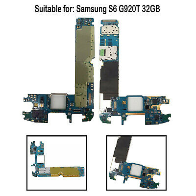 1PC Professional Motherboard Unlocked Replacement for SamsungS6 G920T32GB Parts