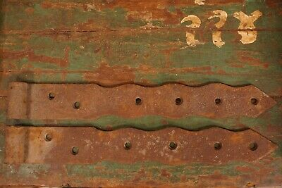 Antique 18th to 19th Century Door Hinges (Big) Set of 2