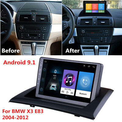 """9"""" Radio Android 9.1 For BMW X3 E83 2004-2012 Stereo MP5 GPS Navigation 2GB+32GB"""