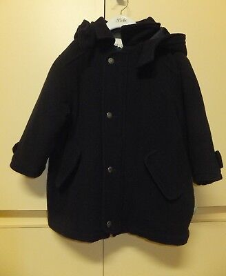 Boys/Girls Trussardi Cashmere/Wool Blend Coat/Jacket, Size 4