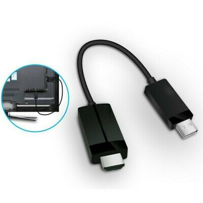 For Microsoft Wireless Display Adapter V2 Receiver HDMI And USB Port Black