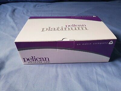 Pelican Platinum Contour Closed Ostomy Pouch Size 35mm Box Of 30 BNIB