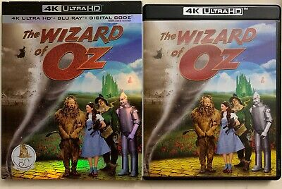 The Wizard Of Oz 4K Ultra Hd Blu Ray 2 Disc Set + Slipcover Sleeve 80Th Annivers