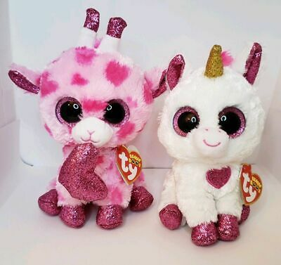 ~ TY Beanie Boo Valentine/'s Day Collection 2019 ~ SWEETUMS ~ FREE SHIPPING