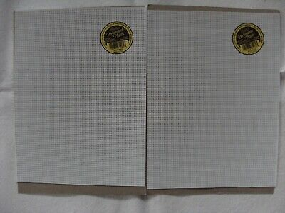 Darice 14 Count Perforated Plastic Canvas - 2Pack (21 X 27.5 Cms Each)