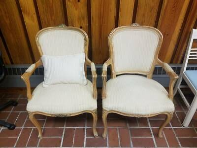 Set of two vintage wooden chairs