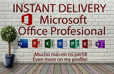 INSTANT DELIVERY Microsoft Office Profesional 2019 Professional Key| Genuine ✅