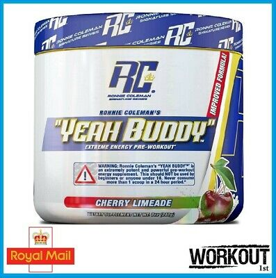 Ronnie Coleman Signature Series YEAH BUDDY Pre Workout Extreme Energy 30 SERV EU