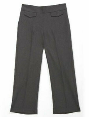 GIRLS SMART WOVEN TROUSERS (with tefflon) - COL: GREY - AGE 4/5 YEARS BNWT