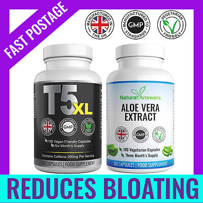 Colon Cleanse & T5 XL 360 Keto Diet Pills Fat Burners UK Weight Loss Tablets