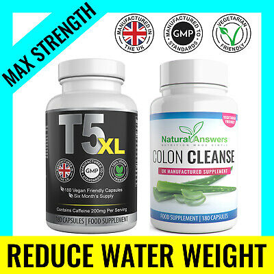 Colon Cleanse Fat Burners & T5 XL 360 Keto Diet Pills UK Weight Loss Tablets
