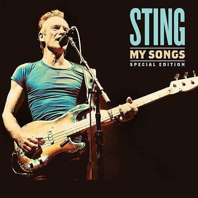 Sting My Songs Special Edt. 2 Cd+Poster Cd Bonus Live 2019 Nuovo Sigillato