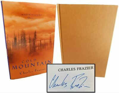 'Cold Mountain' Signed by Charles Frazier 1997 UK 1st Printing