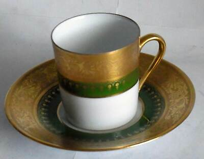 Very rare extraordinary Limoges made ( Cador) small coffee-cup