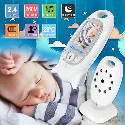 VB601 2.4G Wireless Baby Video Monitor Safe Two-way Talk LCD Screen Night Vision