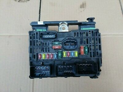 Peugeot., Citroen  Fuse Box  Bsm Unit 9661682780