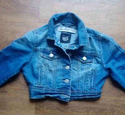 Girls Denim Jacket  New Look 915 Generation Age 7-8 years.  Excellent Condition
