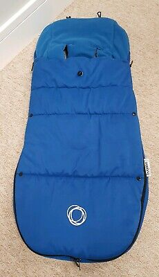 Bugaboo universal royal blue footmuff/cosytoes newest style Velcro 003
