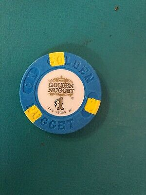Golden Nugget Las Vegas Casino Chip Issued 1992