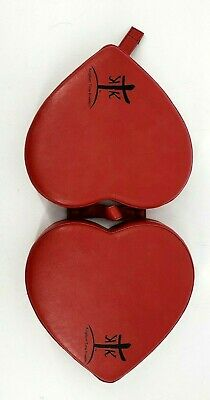 Rare Prayer Padded Kingdom Time Kneelers Portable Personal Home Church Heart Red