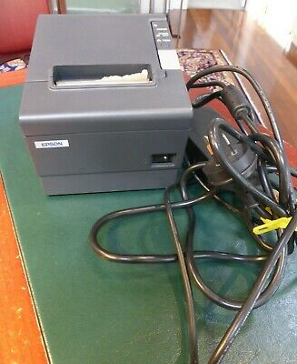 USED Epson TM-T88IV M129H POS Thermal Receipt Printer WITH CABLE SEE PHOTOS