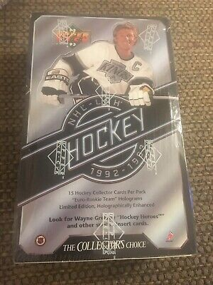 1992-93 Upper Deck Hockey Factory Sealed Wax Box  Series 1 36 Packs