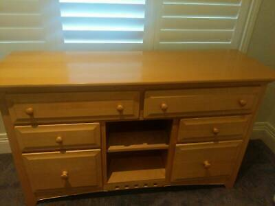 Large Baby Change Table, Chest of Drawers, Dresser