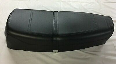 VESPA PX-PE 125/150/200 Two Seater Saddle with Lock & Spring Bottom Black NEW