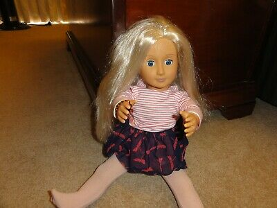 Doll by battat very good condition .