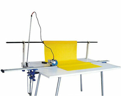 """Professional 220V Electric Fabric End Cutter Machine Up to 86.6"""" Across Digital"""