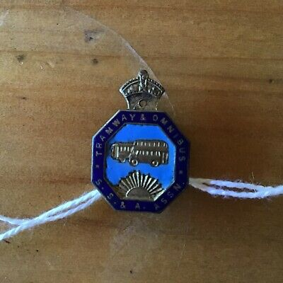 Vintage Australian Tramway And Omnibus Badge Angus And Cootes