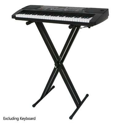New X-Shape Adjustable Electric Piano Rack Stand