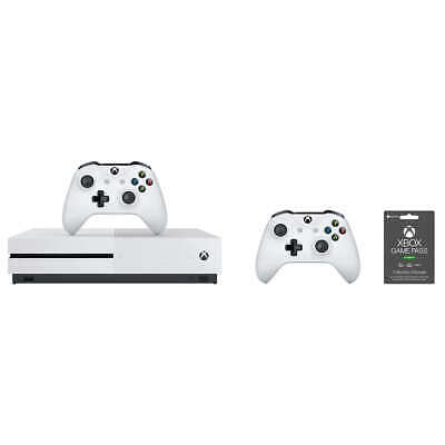 Brand New Microsoft Xbox One S 1TB Two-controller Bundle