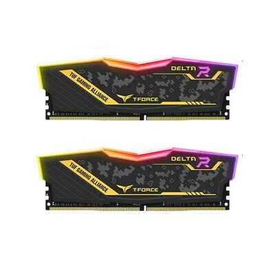 Team 16GB (2x8GB) 3200MHz RGB RAM Memory T-Force Delta Asus TUF Alliance Series
