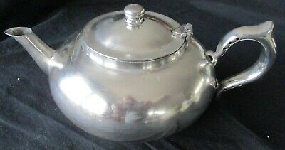 Vintage Robur-Challenge 2-Cup Silver-Plated Perfect Teapot 101-5 With Infuser