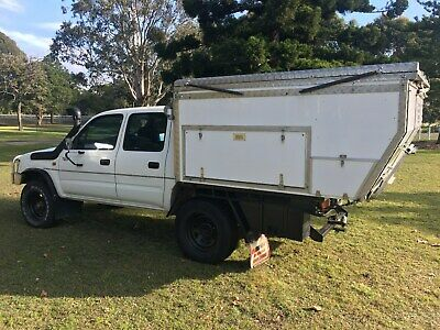 Slide on camper pop top only, suit ute extra cab tray 4x4 Toyota or similar