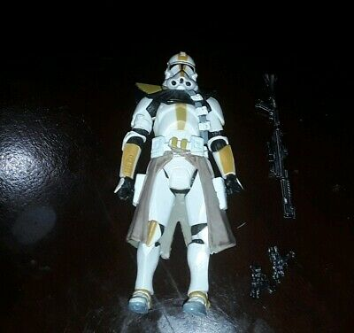"Star Wars 3.75"" Revenge Sith 327th Star Corps Clone Trooper Betrayal Felucia"