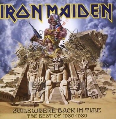 IRON MAIDEN - SOMEWHERE BACK IN TIME BEST OF: 1980-1989 CD NEW NWOBHM Sealed