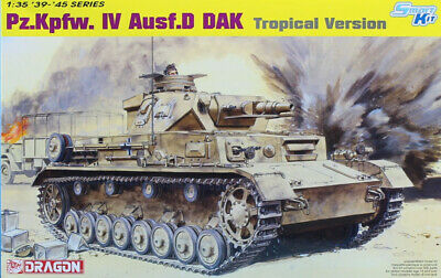 Dragon 1//35 Scale PzKpfw.IV Ausf.D Tropical Parts Tree C from Kit No 6779