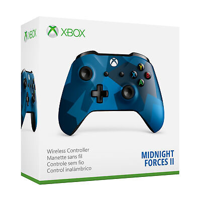 Microsoft WL3-00149 Xbox One Wireless Controller, Midnight Forces II Special