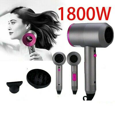 1800W Negative Ionic Professional Salon Styler Electric Hair Dryer Hairdressing