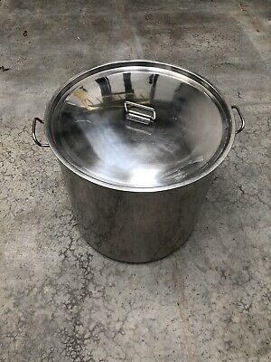 50L Stainless Steel Industrial Cooking Pot With Lid