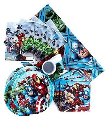 avengers birthday party latex balloons. Avengers bunting flag banner decorations