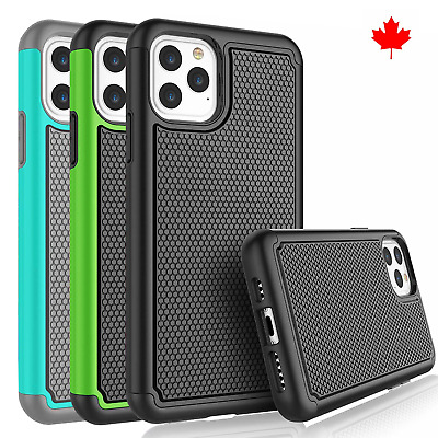 Fits iPhone 11 Case Shockproof Rugged Impact Hybrid Armor Protective Cover